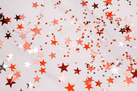 top view shiny stars abstract background