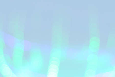 defocused blurred  green led strip abstract background