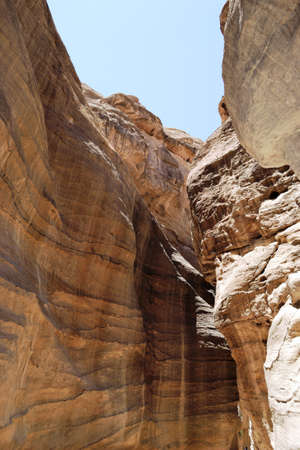 Canyon in Jordan