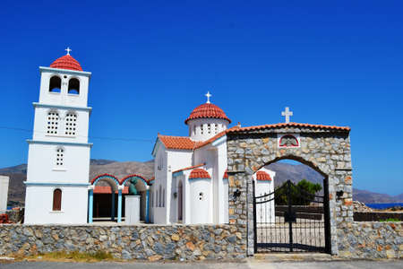 kreta: Greece, island Crete, the White Church