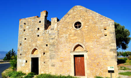 Greece, island Crete, Church Stock Photo - 19258518
