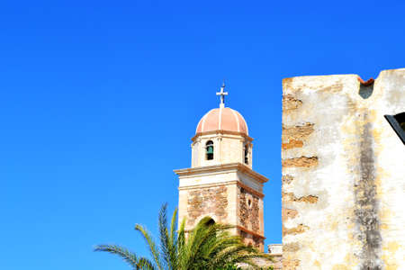 Greece, island Crete, Church Stock Photo