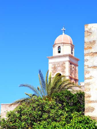 Greece, island Crete, Church Stock Photo - 19258515