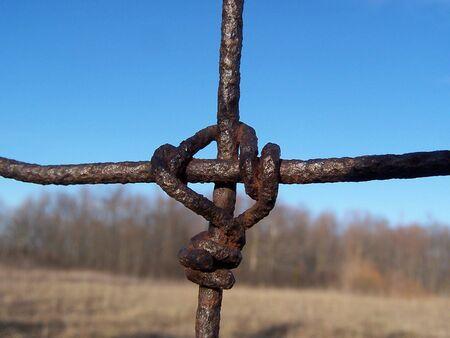 Farm fence Imagens