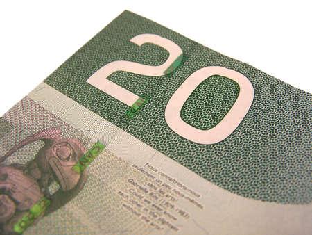 Canadian $20 bill Stock Photo - 644712