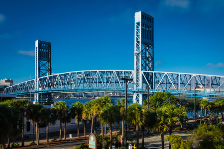 Main Street Bridge in Jacksonville Florida
