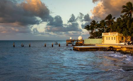 Whitehead Spit in Key West Florida Фото со стока