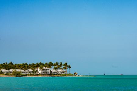 Beach Houses on sunset key in key west florida