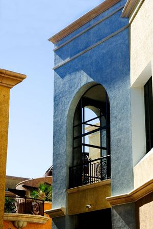 architectural southwest style building Stock Photo - 2389812