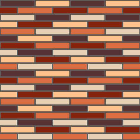 Seamless Brick Pattern Tile Design