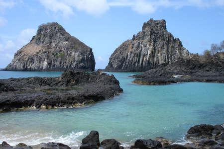 "Il ""Pigs Bay"" e Fernando de Noronha, un paradisiac isola al largo delle coste del Brasile."