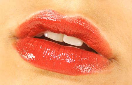 be kissed: La perfetta labbra rosse, in attesa di essere baciato!