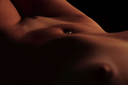 The bare body or part of a 18 year old Brazilian blond. (This image is part of a series). Stock Photo - 1107034