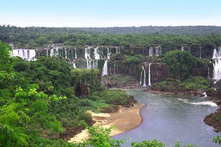 The Iguassu (or Iguazu) Falls  photo