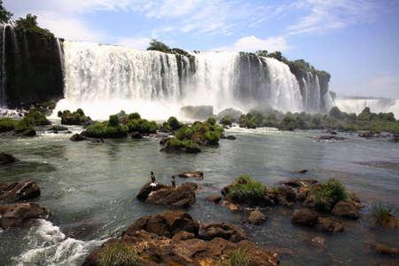 The Iguassu (or Iguazu) Falls