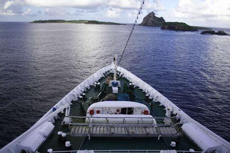 Cruise ship front. photo