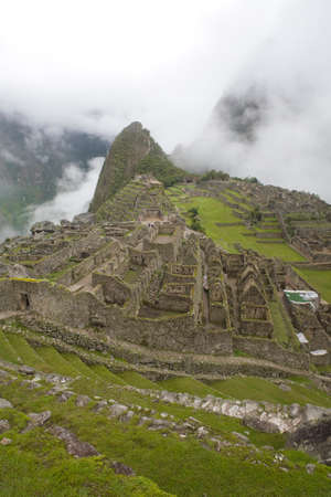 urubamba valley: Machu Picchu is a pre-Columbian Inca site located 2,430 metres (8,000 ft) above sea level. It is situated on a mountain ridge above the Urubamba Valley in Peru, which is 80 kilometres (50 mi) northwest of Cusco and through which the Urubamba River flows.