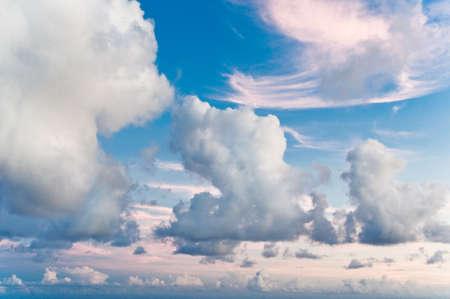 A tropical morning sky on the island of Kauai, Hawaii. Stock Photo - 8509642