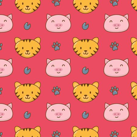 Cute animal pattern
