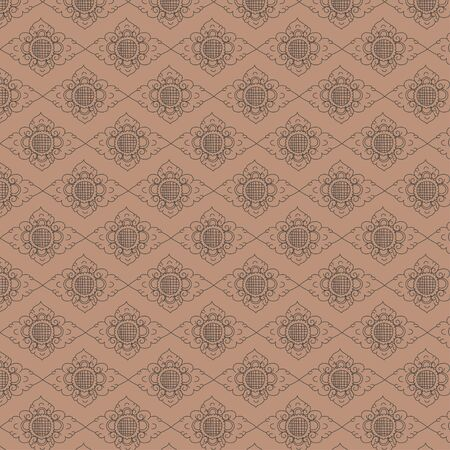 Ornamnet pattern vector