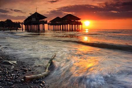 ex: Ex  Buleleng Harbour Sunset, Buleleng, Bali