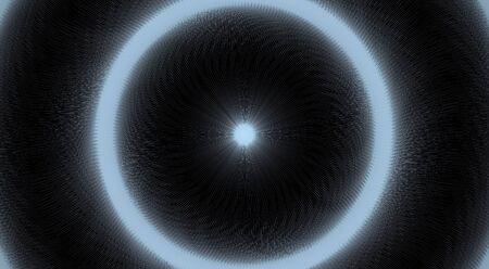 Tunnel Vision Illusion Stock Illustratie