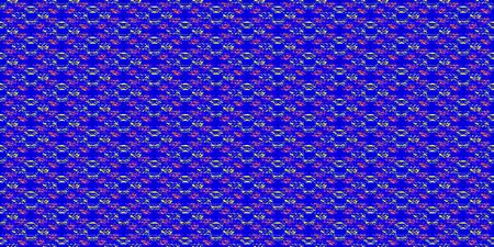 オレンジ色の青と黄色のカーペット  イラスト・ベクター素材