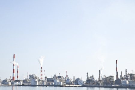 petrochemistry: industrial complex Stock Photo