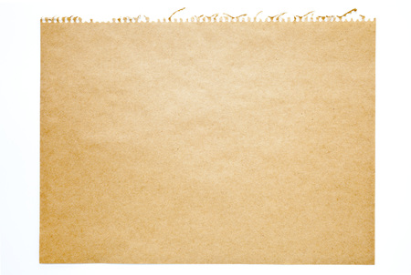 blank note: Paper texture Stock Photo