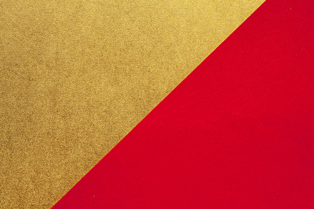 Gold and red of the Japanese paper
