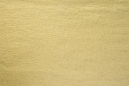 ゴールドしわ紙テクスチャ背景