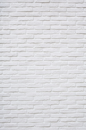 White brick texture background Stock Photo
