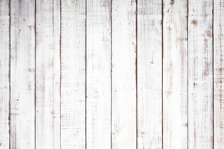 wooden fences: Wooden white board texture background Stock Photo