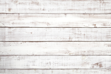 white wall texture: Wooden white board texture background Stock Photo