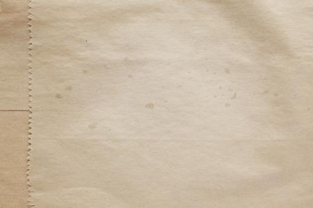 古い紙バッグ テクスチャ背景 写真素材