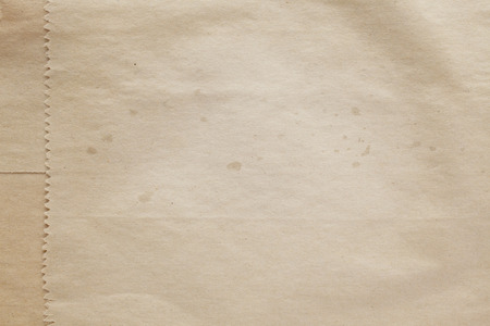 Old paper bag texture background