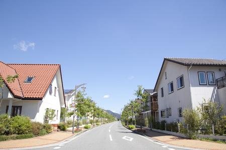japon: Zone résidentielle Banque d'images