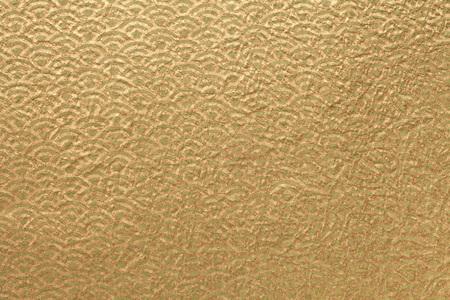Japanische Goldpapier Standard-Bild - 45297810