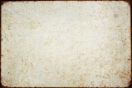 Grunge iron plate texture background Standard-Bild