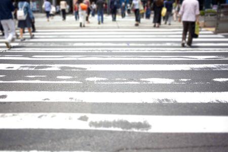 paso de peatones: Cruce