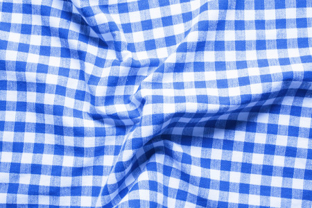 checked: Checked pattern fabric Stock Photo
