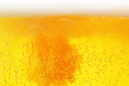 Beer close-up background Foto de archivo