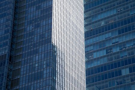 financial district: Skyscraper of business and financial district