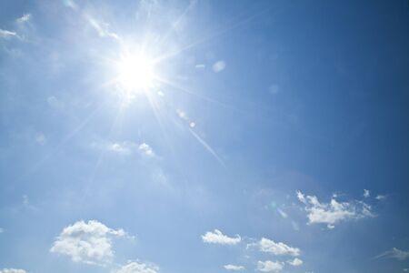Sky and the sun