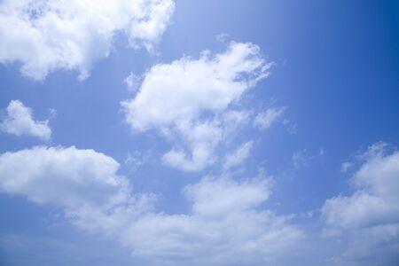 Blue sky background Banque d'images