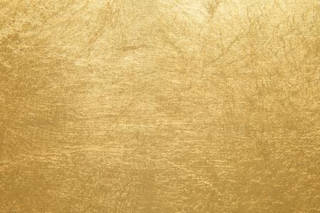 Golden foil paper texture background