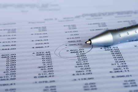 checking the balance Stock fotó