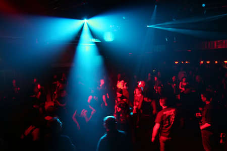 clubbers: gente que baila