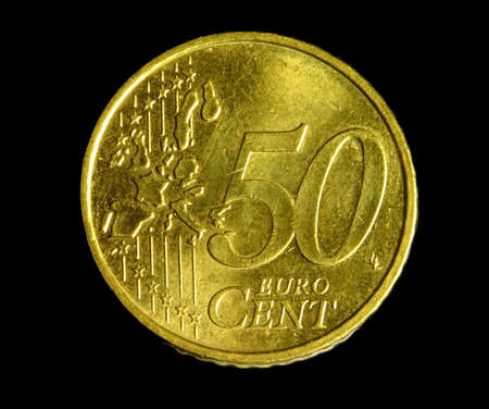 coppers: Fifty euro cent coin