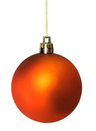 diffuse: Coppery diffuse shining christmas ball